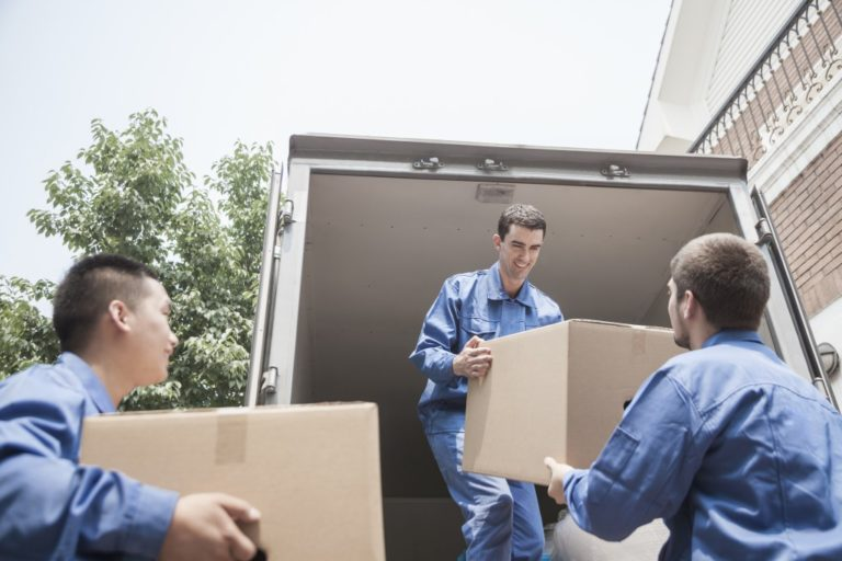 movers carrying boxes