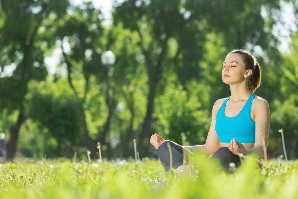 Outdoor meditiation