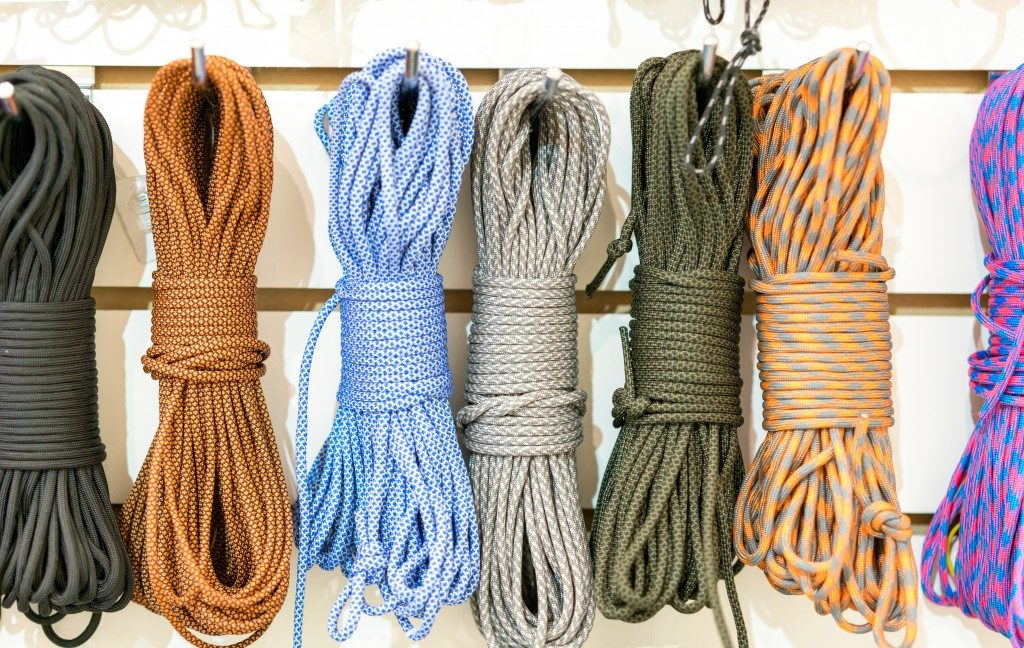 Different paracord
