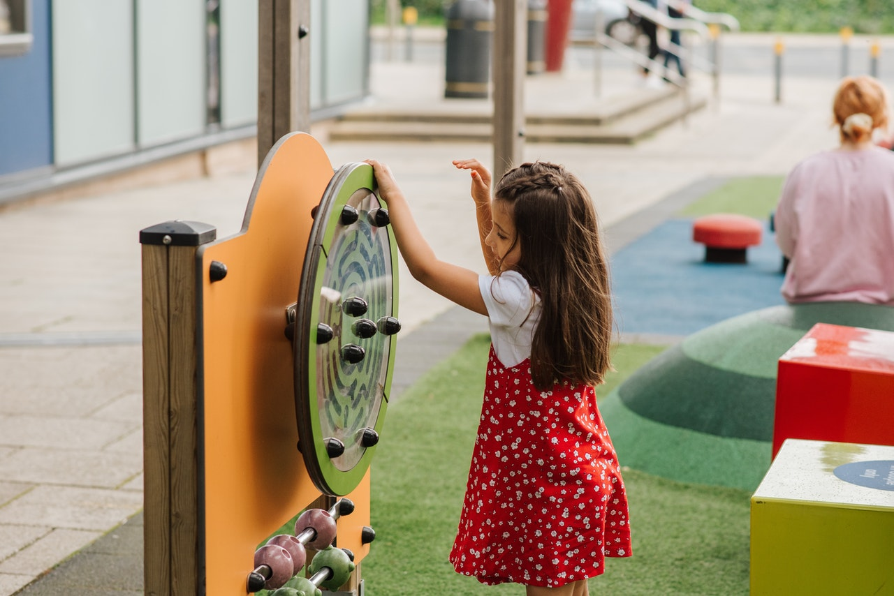 child at a playground