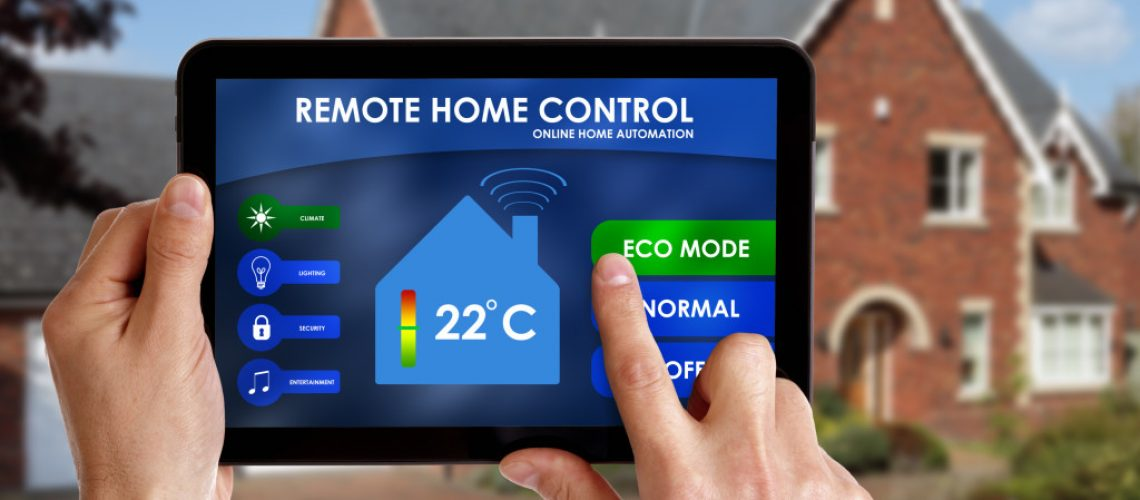 tablet to control home's temperature